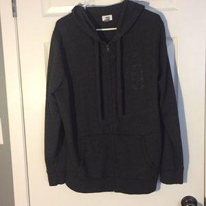 Old Navy Zip up Hoodie Size Xl grey